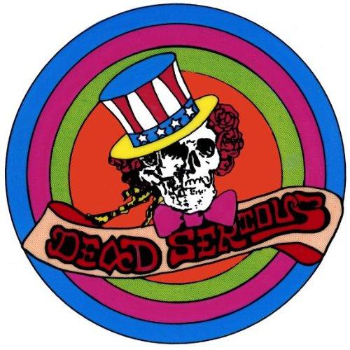 Grateful Dead–Uncle Sam Bertha selbst auf Aufkleber Grateful Dead Aufkleber