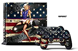 PS4 Console + Controller Skin - WW2