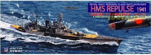 Battlecruiser Repulse 1941 Etched Parts Cruiser 1/700 Royal Navy Renown class (W123E) (japan import) | De Faire Le Meilleur Emploi De Matériaux Et Spécial Offre
