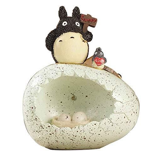 Totoro Nachtlicht Nette Chinchilla Ei Dekoration Mädchen Schlafzimmer Raumdekorationen Nachtlampe Kreative Anime LED Paar Geburtstagsgeschenk,A (Paar Raumdekorationen)