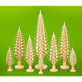 Weihnachtsdeko Spanbaum 14cm NEU Baum Weihnachten Seiffen Spanbäumchen Holzbaum