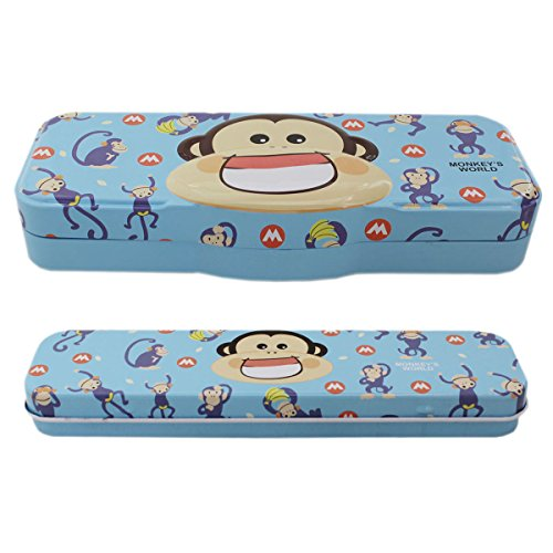 Buy Animal Monkey Tin Pen Pencil Box
