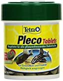 Tetra Pleco Tablets, Grünfutter-Tabletten mit einem hohen Anteil an Spirulina-Algen, 120 Tabletten Dose