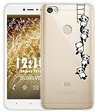 Sunrive Für Xiaomi Redmi Note 5A Prime Hülle Silikon, Transparent Handyhülle Schutzhülle Etui Case Backcover für Xiaomi Redmi Note 5A Prime 5,5 Zoll(TPU Panda 1)+Gratis Universal Eingabestift