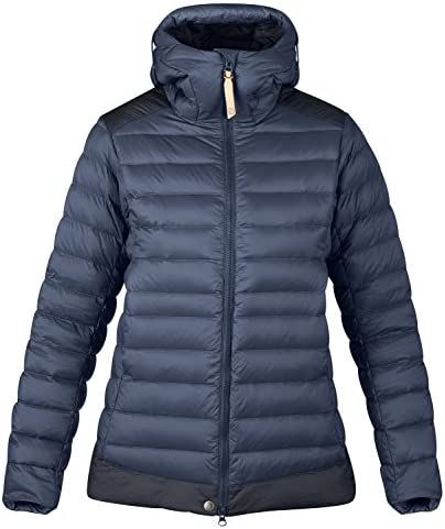 FJÄLLRÄVEN Keb Touring Down Jacket donna – Outdoor Piumino, Storm Storm Storm Night Sky, L | Outlet Online Store