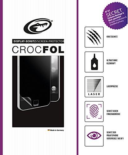 CROCFOL SECRET 5K HD Schutzfolie für das Samsung SGH-N500. Schutz der Privatsphäre (PRIVACY-COATING) und Schutz gegen Fingerabdrücke (ANTI-FINGERPRINT), sowie Stoßabweisend (SHOCK-PROOF). 3D Touch Folie für das Original Samsung SGH-N500. Hergestellt in Deutschland.