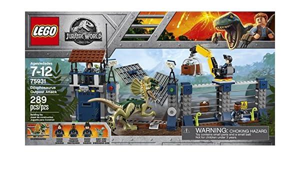 1x Female 75931 Dilophosaurus Attack LEGO NEW Jurassic World Hunter