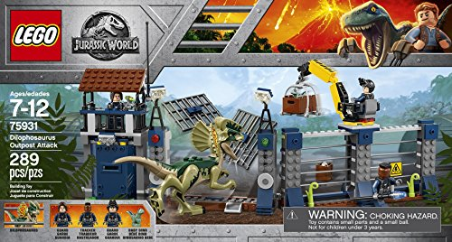 LEGO Jurassic World Ataque del...