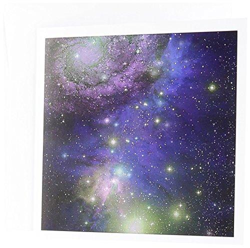 Sterne Galaxien und Nebeln Night Sky Platz Astronomie-Grußkarten, 15,2x 15,2cm, Set 6(GC 112990_ 1)