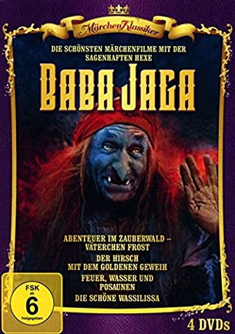 Hexe Baba Jaga - Edition [4 DVDs]
