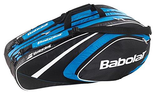 Babolat Schlägertaschen Racket Holder X12 Club Line, Blau, 74 x 34 x 33 cm, 58 Liter, 751078-136