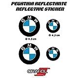 Aufkleber Aufkleber aufkleber Aufkleber Aufkleber autocollants BMW reflektierende Motorrad Auto Vinyl hochwertig 4 Einheiten REF1