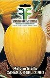 ❦ 180 C.ca Semi Melone Giallo Di Canaria 3 Sel. Sirio - Cucumis Melo In Confezione Originale Prodotto in Italia