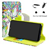 LFDZ Wiko View 2 case-Stand View Flip PU Leather Wallet