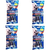 Super Max 3 Hattrick Triple Blade Disposable Razo (5 Razor in a Pack) Pack of 4