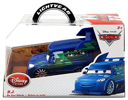 Disney Pixar Cars Diecast DJ Vehicle Fahrzeug 1:43 (Disney Pixar Cars Diecast Lizzie)