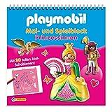 Playmobil Mal- und Spielblock Prinzessinnen: Mit 30 tollen Mal-Schablonen!