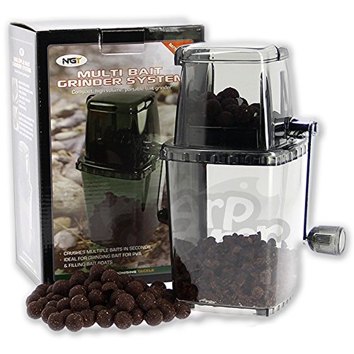 Carp Coarse Fishing Tackle Multi Bait Grinder System ideal for Chopped boilies Test