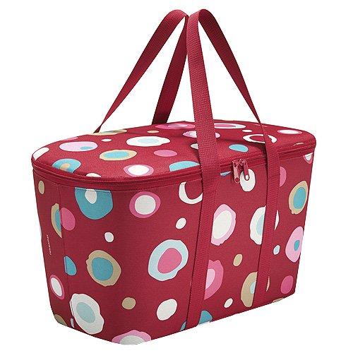 reisenthel Kühltasche, Polyester, Funky dots 2 - rot, 59 cm -