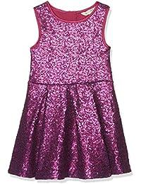 Uttam Boutique Girl's Two Tone Sequin Dress