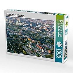 CALVENDO Puzzle Panometer, Kohlrabizirkus, MDR 1000 Teile Lege-Größe 64 x 48 cm Foto-Puzzle Bild von Claudia Knof