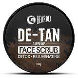 Beardo DeTan Face Scrub for Men | Coffee Scrub for Blackhead, Tan & Dead Cell Removal | Natural Glow | Rejuvenates Skin (100g