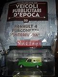 Renault 4 Furgonetta Interflora 1966 Pubblicitari Epoca +fas.55 DIE CAST 1:43