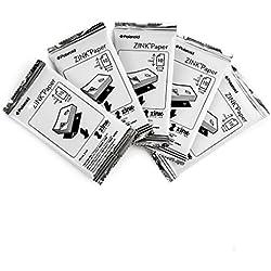 """Polaroid - Papier photo ZINK Premium 2""""x3"""" - LOT DE 50 feuilles - Compatible avec les appareils-photo Polaroid Snap, Z2300 & SocialMatic Instant, et avec l'imprimante Polaroid Zip Instant (emballage en vrac)"""