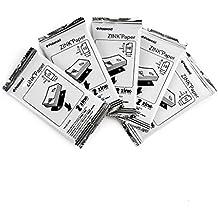 Polaroid M230(50) - Papel fotográfico ZINK Premium 2x3 pulgadas (5 x 7,5 cm) Pack Quíntuple(50 hojas) - Compatible con Polaroid Snap, Z2300, cámaras instantáneas SocialMatic y la impresora instantánea Zip (Paquete a granel)