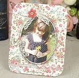 Woodmin Retro DIY Cadre Photo Kit Home Décor Cadre de Mariage (PFA02)