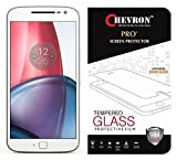 Chevron Moto G Plus, 4th Gen Screen Protector, Premium Oil Resistant Coated Tempered Glass Screen Protector Film Guard for Moto G Plus, 4th Gen, Anti- best price on Amazon @ Rs. 179