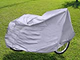 #2: New Bicycle Waterproof Dust Cover - Silver