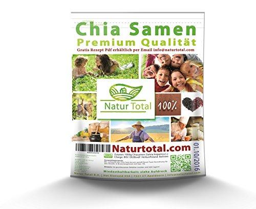 Chia Samen -  Naturtotal, 1000g