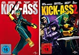 Kick-Ass 1 + 2 im Set - Deutsche Originalware [2 DVDs]