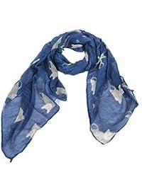 Accessoire pour Femmes Calonice Amorino écharpe e grande classe avec motifs de chat Taille unique 175x0.1x105 cm (LxHxl) 27600