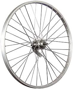 Taylor Wheels 24 pouces roue arri/ère v/élo 3 vitesses r/étrop/édalage 507-19 argent