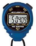 AccuSplit A601XBU Pro Survivor Stoppuhr mit Blau H-lle