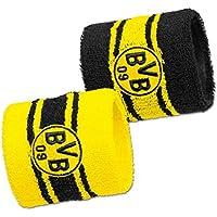 Borussia Dortmund BVB Hombre sudor banda Set 2unidades, amarillo/negro, ONE SIZE, 2466153