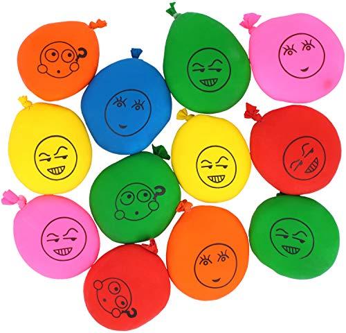 com-four® 12x Antistressball für den Stressabbau und zum Spielen in bunten Farben [Auswahl variiert] (12 Stück)
