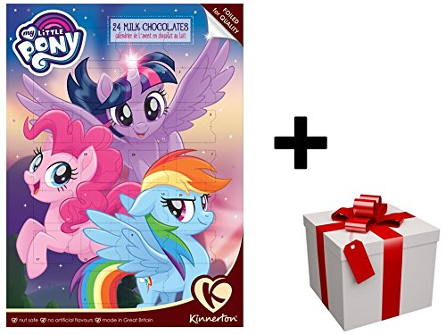 "Nouveau Calendrier de l'avent 2017 ""MY LITTLE PONY"" au chocolat au lait PLUS CADEAU SURPRISE"