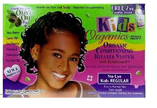 Relaxer/Lissage Crème Africa S Best Kids Organics Relaxer Regular