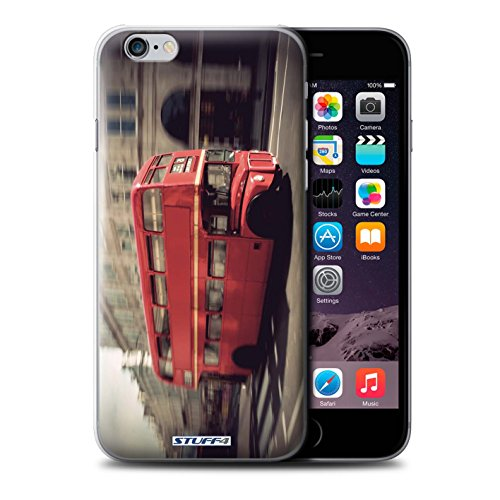 Coque de Stuff4 / Coque pour Apple iPhone 5C / Red Phone Box Design / Londres Angleterre Collection Rouge Bus