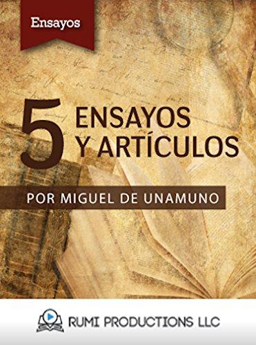5 Ensayos y Artículos por Miguel de Unamuno