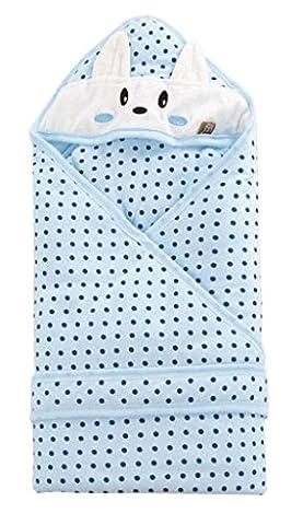 Blueberry Shop drasawee nouveau-né bébé Sac de couchage couverture manches