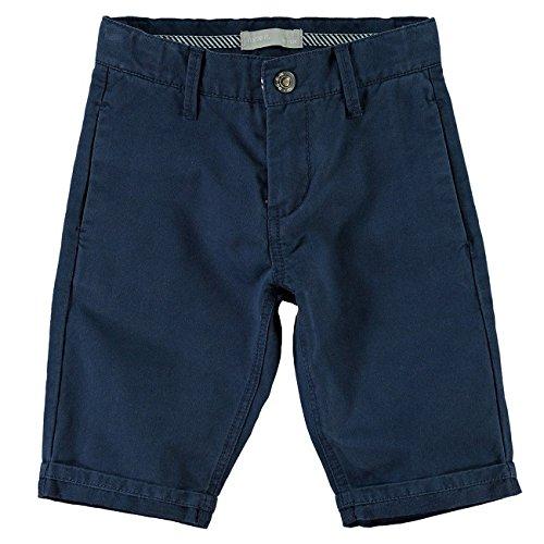 Name It Hane Chino Long Shorts Dress Blues 13113871 Kids-116