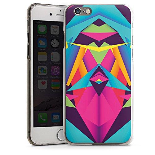 Apple iPhone 5 Housse étui coque protection Couleurs sympas Triangles Triangles CasDur transparent