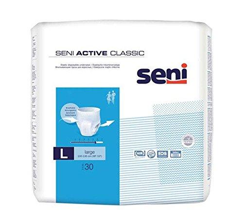 Seni Active Classic Large Inkontinenzslips / Pants (3x30 Stk.) Nachfolgeprodukt von Seni Active Basic