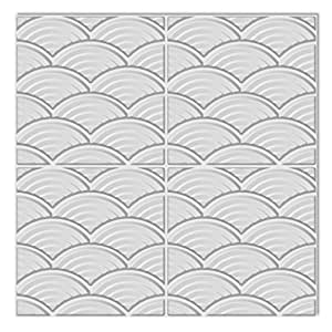 vidaXL Panneaux muraux 3D arqué 0,5 m x 24 panneaux 6 m²