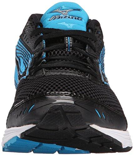 Mizuno Wave Sayonara 3 Synthétique Chaussure de Course Black-Atomic Blue