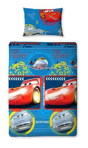 Disney Character World 135 x 200 cm Cars Spy Single Rotary Duvet Set